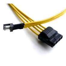 Floppy FDD Power to 4-Pin Molex Adapter Cable