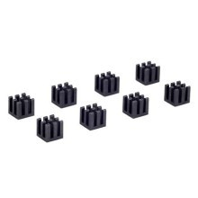 Black Chipset Heatsink (10mm x 10mm x 10mm)