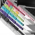 Anti Dust Smart Port Cover Set for Macbook Air / Retina / Pro (8 Colors)