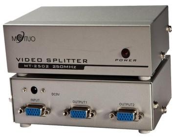 Maituo 250MHz 2 Port VGA Splitter (MT-2502)