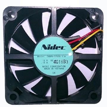 Nidec Ultra Silent 6015 12V 0.12A 60mm Cooling Fan