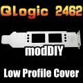 QLogic QLE2462 QLA2462 Dual Port 4GB 2U Low Profile Expansion Slot Cover