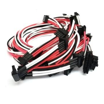 Cooler Master V Series Premium Individually Sleeved (Single Sleeved) Modular Cable Set (Black/Pink/White)