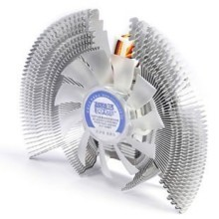 PC Cooler Aluminium Large Fin Quite Fan VGA Cooler