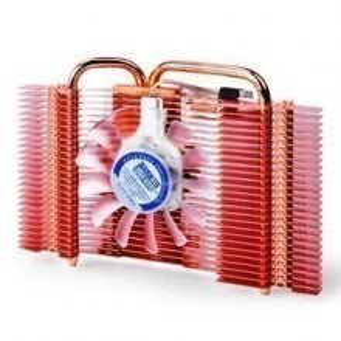 HDT Technology 80mm Quiet Fan Heatpipe VGA Cooler