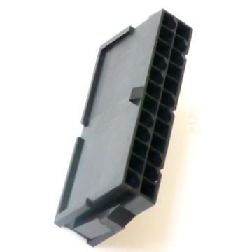 modDIY ATX 24 Pin Male Connector Housing (Black)