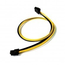 8-Pin PCIE Female to 2-Pin ATX Female Adapter Cable (50cm)