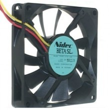 Nidec Beta SL 8015 12V 0.09A Ultra Silent 80mm Cooling Fan