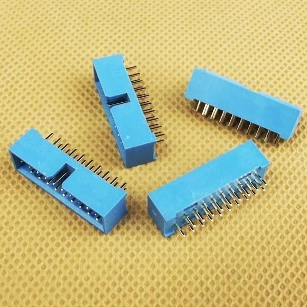 Usb pin male idc connector box header pcb