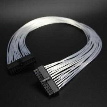 Silverstone SX600-G SX500-LG Premium Silver Wire Modular Cable Set