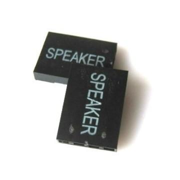 Dupont 4-Pin Female Motherboard Speaker Connector - Black