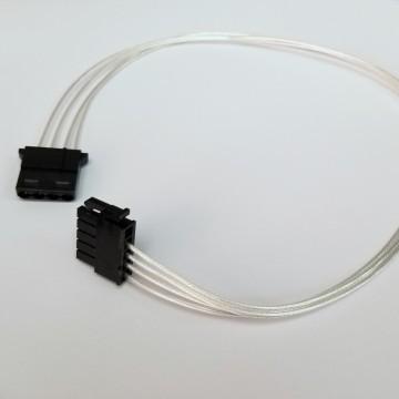 Enermax MODU87+ Premium Silver Wire Modular Power Cable (SATA / Molex)