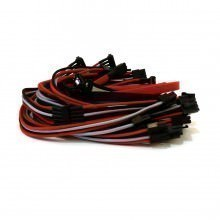 Corsair AX760 Premium Single Sleeved Power Supply Modular Cables Set (Red/Grey/Black)