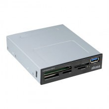 Akasa USB 3.0 Desktop PC 3.5 Inches Bay Internal Multi Card Reader