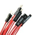 Premium Red Wire HDD LED 2-Pin Internal Header Extension Cable (50cm)