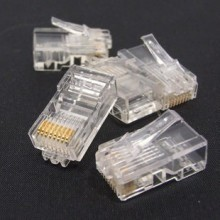 AMP RJ45 CAT5 Network Crystal Ethernet Head Connector