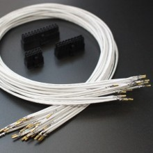 Premium Power Supply Modular Cables DIY Pre-made Electrical Wires Kit