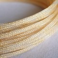 Deluxe High Density Weave Gold Cable Sleeve (6mm)