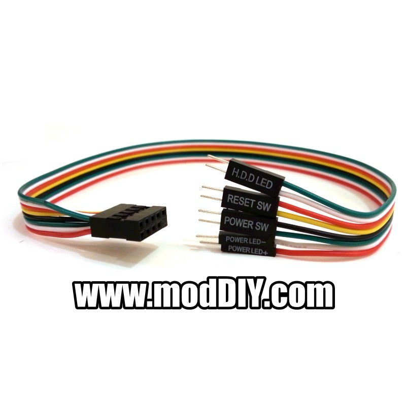 power reset sw power hdd led 10 pin internal motherboard cable. Black Bedroom Furniture Sets. Home Design Ideas