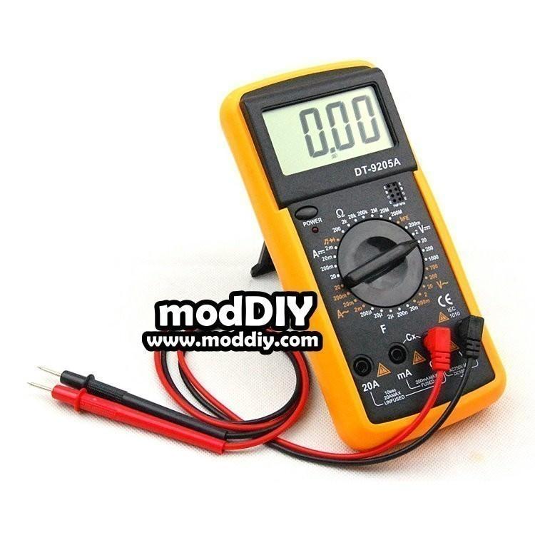 Digital Volt Ohmmeter : Lcd screen digital multimeter volt ohm meter ammeter