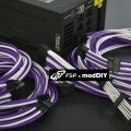 Professional Tailor-Made FSP Custom Sleeved Modular Cable Kit