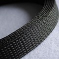 Deluxe High Density Weave Black Cable Sleeve (30mm)