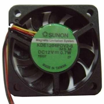 Sunon 4008 12V 0.7W Megnetic Levitation System Cooling Fan KDE1204PDV2-8
