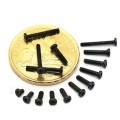 M1.0 Black Screws (2mm / 3mm / 4mm / 5mm / 6mm)