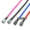 Custom Length 4-Pin PWM Fan Sleeved Female-to-Female Cable