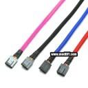 Custom Length 4-Pin PWM Fan Sleeved Female-to-Female Cable