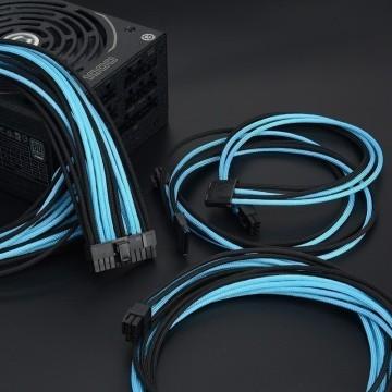 Professional Tailor-Made Seasonic Custom Sleeved Modular Cable Kit