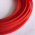 Deluxe High Density Weave Red Cable Sleeve (8mm)