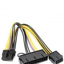 HP DL2000 X58 ATX PSU 24-Pin to 12-Pin Main Power Adapter Cable (20cm)