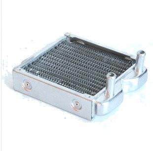 Silver Single 120mm Radiator (Pure Aluminum)