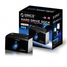 "Orico 8618SUS 2.5"" or 3.5"" SATA HDD Docking Station"