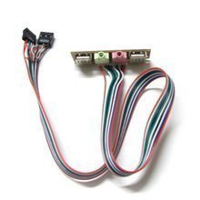 usb ac97 hd audio motherboard internal front panel cable. Black Bedroom Furniture Sets. Home Design Ideas