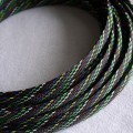 Deluxe High Density Weave Mixed Color Cable Sleeve (10mm)