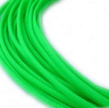 Deluxe High Density Weave UV Green Cable Sleeve (3mm)