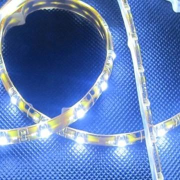 Custom Length Sleeved LED Light Strip - White