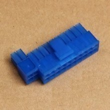 20+4-Pin Motherboard Power Female Connector - Blue