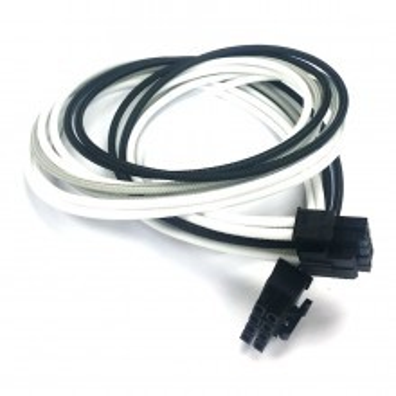 Corsair HX850i Single Sleeved CPU/EPS Modular Cable (Black/White/Grey)