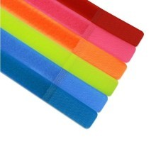 Hook&Loop Reusable Velcro Cable Ties (7 Colors)