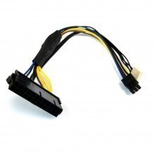 HP Compaq Elite 8300 CMT PSU Main Power 24-Pin to 6-Pin Adapter Cable