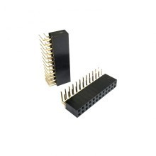 2.54mm Dupont 24-Pin (2x12) Right Angle Motherboard Header Connector