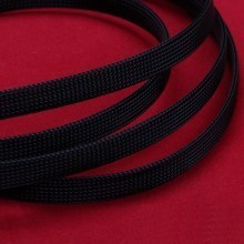 Deluxe High Density Weave Black Cable Sleeve (8mm)