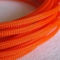 Deluxe High Density Weave Orange Cable Sleeve (4mm)