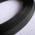 Deluxe High Density Weave Black Cable Sleeve (16mm)