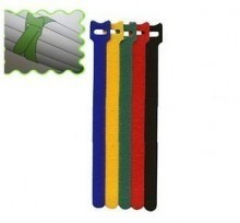 5 Colors Hook and Loop Cable Ties (5 Pack)