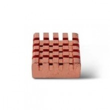 Pure Copper Heat Sink for Raspberry Pi (14mm x 12mm x 5.5mm)