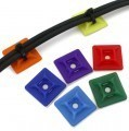 Multi-Colors Self-Adhesive Tie Mount (20mm)